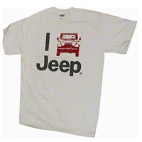 I Jeep White T-Shirt - Old Toledo Brands JPS1063S