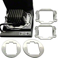 Rigid Industries Fog Light Kit (07-13 Wrangler JK) - Rigid Industries 40138
