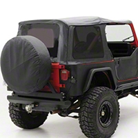 Smittybilt OEM Replacement Top w/ Tinted Windows (10-14 Wrangler JK 2 Door) - Smittybilt 90752-35