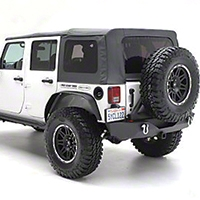 Smittybilt OEM Replacement Top w/ Tinted Windows (07-09 Wrangler JK 4 Door) - Smittybilt 90802-35