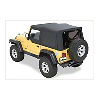 Pavement Ends Replay Top, Black Diamond (07-09 Wrangler JK 2 Door) - Pavement Ends 51202-35