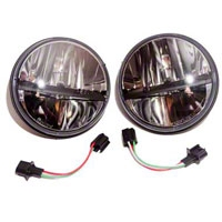 Truck-Lite LED Headlamp kit (07-13 Wrangler JK) - Truck-Lite 27270CK