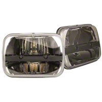 Truck-Lite LED Headlamp kit (87-05 Wrangler YJ) - Truck-Lite 27450CK