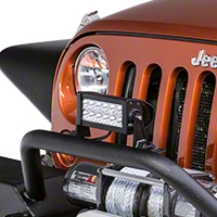Lifetime LED 7.5 in. 12 LED Lightbar (Universal Application) - Lifetime LED LLL36-2100-FLOOD