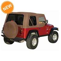 Rampage Complete Top for Steel Doors w/ Tinted Windows, Spice Denim (97-06 Wrangler TJ) - Rampage 68817