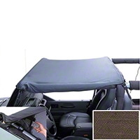 Rugged Ridge Mount Pocket Brief, Khaki Diamond (97-06 Wrangler TJ) - Omix-ADA 13585.37