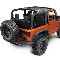 Dirty Dog 4x4 Sun Screen, Front (07-14 Wrangler JK) - Dirty Dog 4x4 DD-S-JKF-07