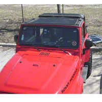 Dirty Dog 4x4 Sun Screen, Front Seat (97-06 Wrangler TJ) - Dirty Dog 4x4 DD-S-TJF-96
