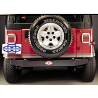 Olympic 4x4 Rear Bumper Adapter (87-06 Wrangler YJ & TJ) - Olympic 4x4 504-124