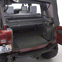Olympic 4x4 Mountaineer Rack, Textured Black (97-06 Wrangler TJ) - Olympic 4x4 907-124