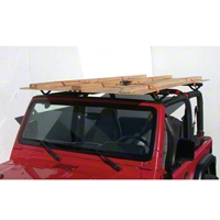 Olympic 4x4 Quick n Easy Rack, Gloss Black (07-13 Wrangler JK 2 Door) - Olympic 4x4 908-161