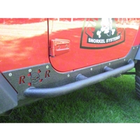 River Raider Rock Sliders, Bare (07-13 Wrangler JK, 2 Door) - River Raider Off Road 121