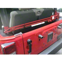 River Raider Hi Lift Jack Mount (07-13 Wrangler JK) - River Raider Off Road 112
