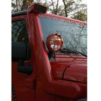 River Raider Cast Aluminum Snorkel System, Black Powdercoat (07-13 Wrangler JK) - River Raider Off Road SNK-0504-PC