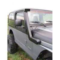 River Raider Cast Aluminum Snorkel System, Black Powdercoat (97-06 Wrangler TJ) - River Raider Off Road 0502-pc