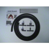 River Raider Breather Hose Extention Kit (07-13 Wrangler JK, 2 Door) - River Raider Off Road SNK-0901-2