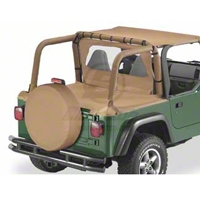 Bestop Duster Deck Cover for Supertop, Spice (97-02 Wrangler TJ) - Bestop 90011-37