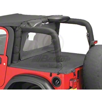 Bestop Duster Deck Cover, Khaki Diamond (03-06 Wrangler TJ, Soft Top) - Bestop 90012-36