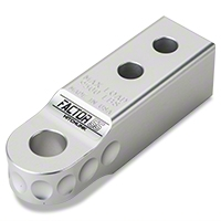 Factor 55 Aluminum Hitchlink, Silver (Universal Application) - Factor 55 Hitchlink Silver