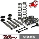 Rough Country 3.25 in. Lift Kit w/ Shocks (07-16 Wrangler JK 4 Door) - Rough Country PERF694