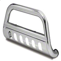 Rugged Ridge 3 in. Bull Bar - Stainless (10-14 Wrangler JK) - Rugged Ridge 11565.02