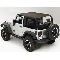 Rugged Ridge Pocket Island Top, Khaki Diamond (10-13 Wrangler JK 2 Door) - Rugged Ridge 13591.36