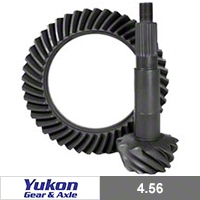 Yukon Gear Front/Rear Dana 44 Ring & Pinion Gear, 4.56, Thick (03-06 Wrangler TJ, Rubicon) - Yukon Gear YG D44-456T-RUB