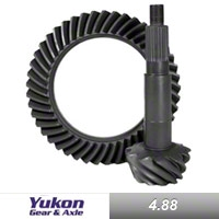 Yukon Gear Front/Rear Dana 44 Ring & Pinion Gear, 4.88, Thick (03-06 Wrangler TJ, Rubicon) - Yukon Gear YG D44-488T-RUB
