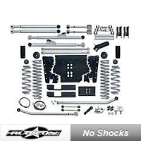 Rubicon Express 3.5 in. Extreme-Duty Long Arm Lift Kit (03-06 Wrangler TJ) - Rubicon Express 7213