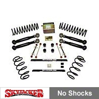 SkyJacker Skyjacker 2.5 in. Value Flex Lift Kit w/o Shocks (04-06 Wrangler Unlimited TJ Rubicon) - SkyJacker TJ253KU-SVX