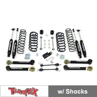 TeraFlex 3 in. Lift Kit w/Lower FlexArms With Shocks (97-06 Wrangler TJ) - Teraflex 1456332