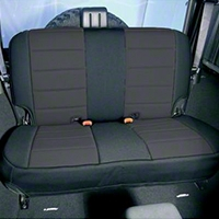 Rugged Ridge Neoprene Rear Seat Cover Gray (87-95 Wrangler YJ) - Rugged Ridge 13262.09