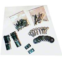 Lange Kwick Kit II Top Hardware (87-95 Wrangler YJ) - Lange 020-289
