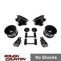 Rough Country 2.5 in. Lift Kit w/Shocks (07-13 Wrangler JK) - Rough Country 657