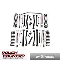 Rough Country 6 In. Suspension Lift Kit (07-13 Wrangler JK 2 Door) - Rough Country 684S