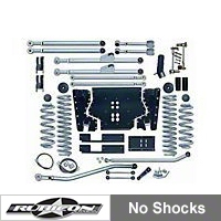 Rubicon Express 4.5 in. Extreme-Duty Long Arm Lift Kit (03-06 Wrangler TJ) - Rubicon Express 7214