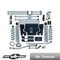 Rubicon Express 4.5 in. Extreme-Duty Long Arm Lift Kit (04-06 Wrangler Unlimited TJ) - Rubicon Express 7224