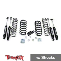 TeraFlex 2 in. Lift Kit w/Shocks (97-06 Wrangler TJ) - Teraflex 1241200