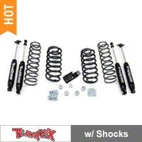 Teraflex 2 in. Lift Kit w/ Shocks (97-06 Wrangler TJ) - Teraflex 1241200