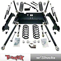 TeraFlex 3 in. Pro LCG Lift Kit w/Shocks (97-06 Wrangler TJ) - Teraflex 1249464