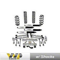 Warrior Products 4 in. Lift Kit (03-06 Wrangler TJ) - Warrior Products 30741