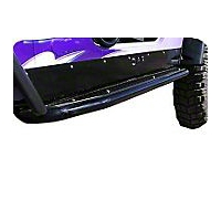 OR-Fab Rocker Protectors w/Rail Bar, Wrinkle Black (04-06 Wrangler TJ Unlimited) - OR-Fab 84202