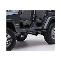 Smittybilt Sure Steps 3 in. Side Bar, Gloss Black (04-06 Wrangler TJ Unlimited) - Smittybilt JN47-S2B
