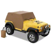 Bestop Trail Cover, Spice (04-06 Wrangler TJ Unlimited) - Bestop 81038-37