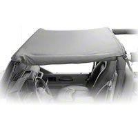 Rugged Ridge Pocket Summer Brief Top, Black Diamond (10-13 Wrangler JK 2 Door) - Rugged Ridge 13590.35