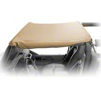 Rugged Ridge Pocket Summer Brief Top, Khaki Diamond (10-13 Wrangler JK 2 Door) - Rugged Ridge 13590.36