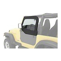 Bestop HighRock 4X4 Element Upper Doors, Black Diamond (97-06 Wrangler TJ) - Bestop 51793-35
