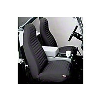 Bestop High-Back Bucket Seat Covers, Charcoal (92-94 Wrangler YJ) - Bestop 29224-09