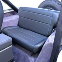 Rugged Ridge Fold & Tumble Rear Seat, Tan (87-95 Wrangler YJ) - Rugged Ridge 13462.04