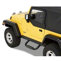 Bestop HighRock 4x4 Slider Step, Black (07-13 Wrangler JK 2 Door) - Bestop 49313-01